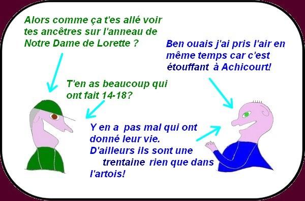 Visite du mémorial international de Notre Dame de Lorette 01