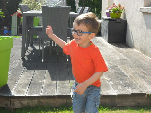 Sacha, 3 ans.