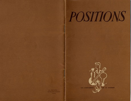 "Le journal ""Positions"""