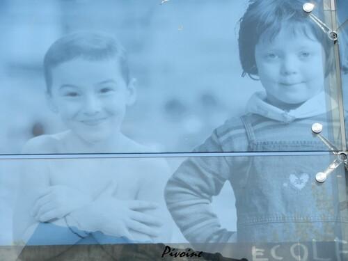 LE MUR SERIGRAPHIE DES ENFANTS