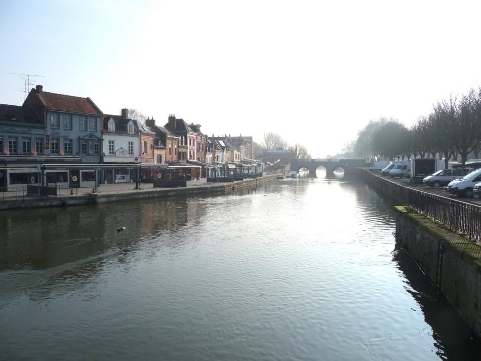 Un dimanche de mars à Amiens