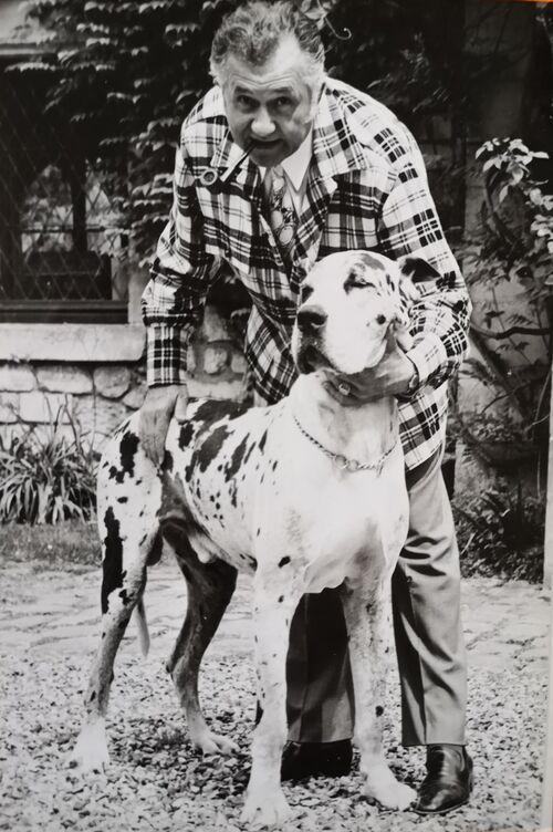 Jean Richard, l'amour des animaux (4) , archives David Kimroza