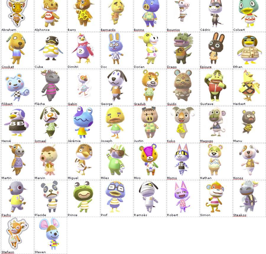 Villageois   Animal Crossing Wiki   FANDOM …
