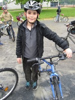 Séance de vélo bien arrosée et surtout très boueuse
