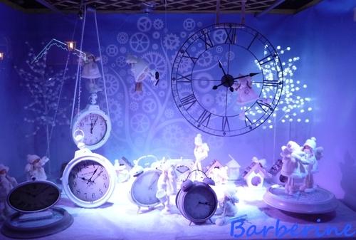 Une heure bleue ...