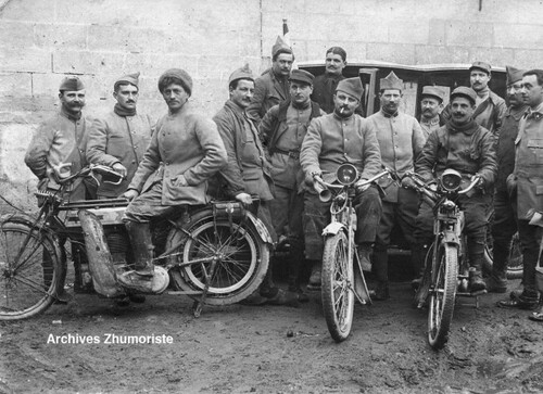 La Motocyclette en France 1914-1921 - Réédition (3)