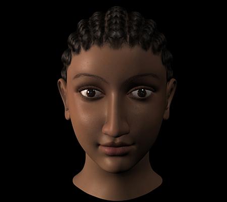De quelle femme célèbre ce visage est-il la reconstitution ?