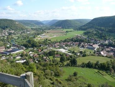 Ornans - Vers les Gorges de Noailles