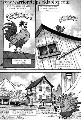 1ères pages d'une paix menacée ! (le tome 1 des mangas de Nuage de Jais !)