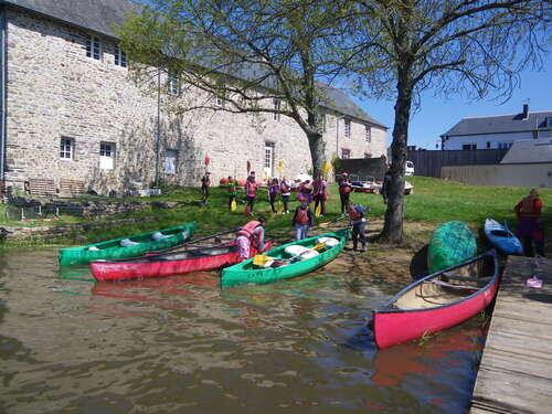 Kayak et intervention CPIE - Jour 1