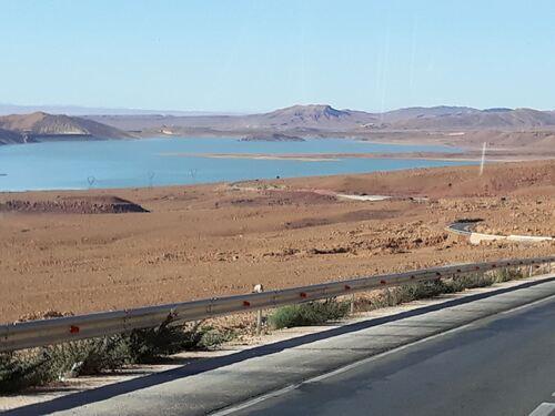 Le lac de barrage