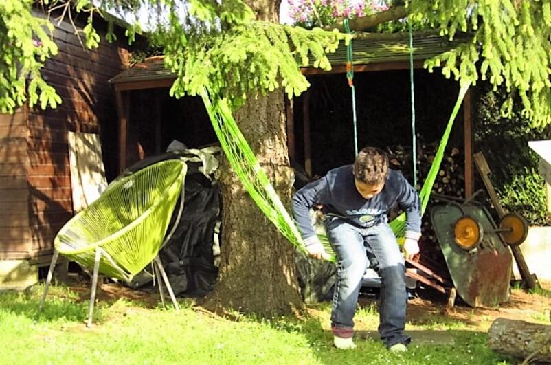 Facile de s'étendre dans un hamac ?