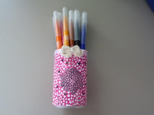 Mon pot à crayons