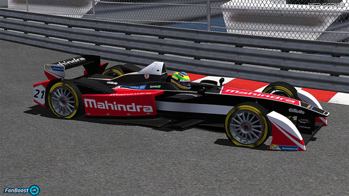 Team Mahindra Racing - Bruno Senna