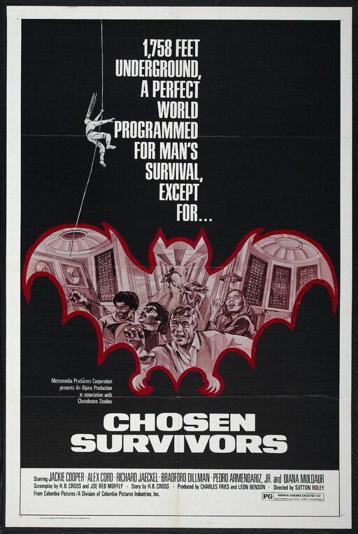 CHOSEN SURVIVORS BOX OFFICE USA 1974