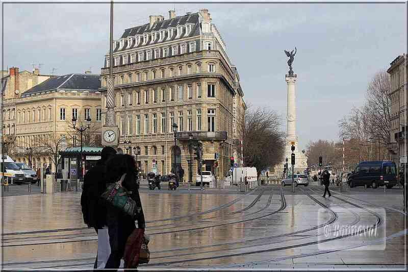 Aquitaine Gironde Bordeaux Place de la comédie