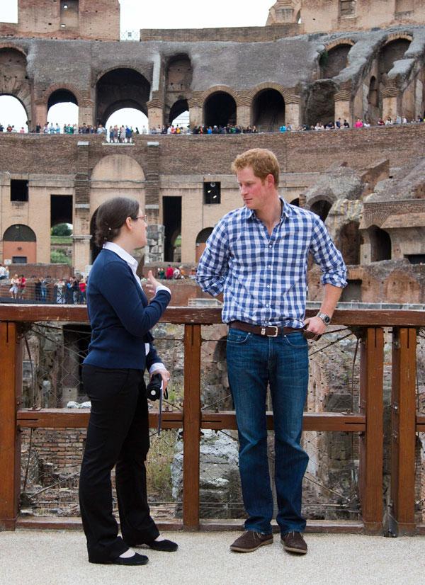 Harry à Rome