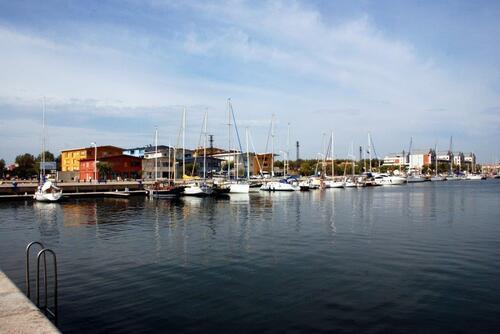 Le Port de plaisance à Port St Louis du Rhône
