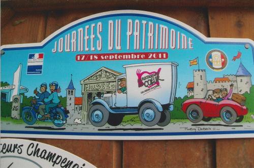 Plaques de Rallye 2011