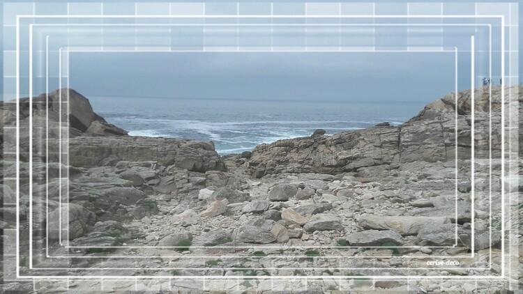 ciel gris sur le finistère sud saint guénolé