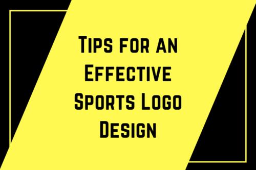 Tips for an Effective Sports Logo Design