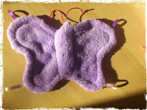 Une turbulette fraiche et acidulée: L'envol des Papillons.