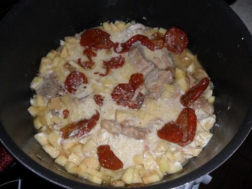 *** Filet migon de porc aux pommes et au cidre ***