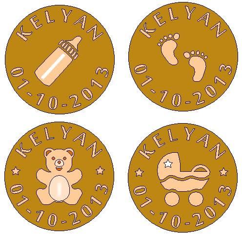 Quel modèle de biscuit choisirez-vous comme cadeau de naissance ou de baptème? Arts et Sculpture, sculpteur sur bois, artisan d'art