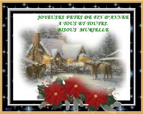 Le Noël des paysans.