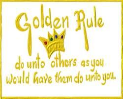 Golden rules.