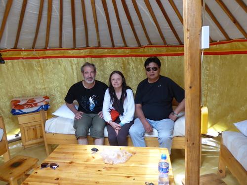 Voyage Transsibérien 2017, le 19/07, 12 ème jour,  Mongolie, notre camping+ virade de l'espoir