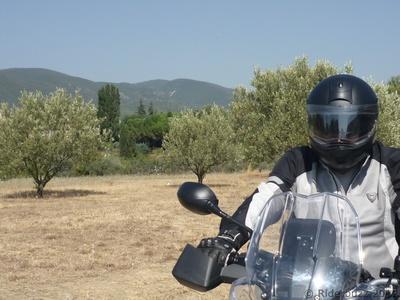 Moto, cigales et oliviers ....une balade dans les Alpilles ......