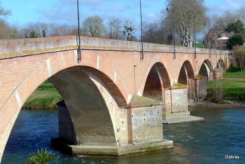Cintegabelle : un pont sur l'Ariège ... n 1