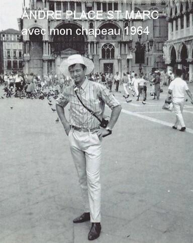 MON DERNIER VOYAGE A VENISE 2011 ET MON IER VOYAGE EN 1964