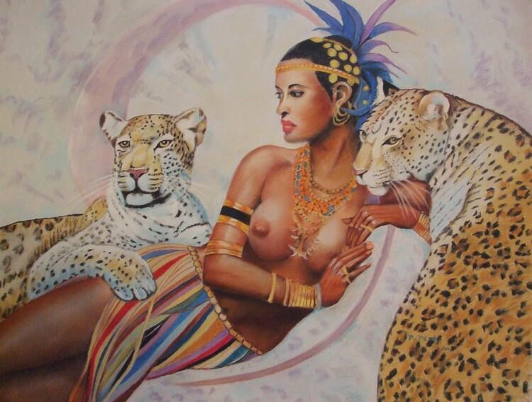La déesse du Nil