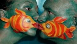 Comme un poisson......