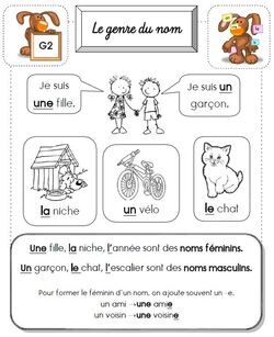 Leçon en Français CP