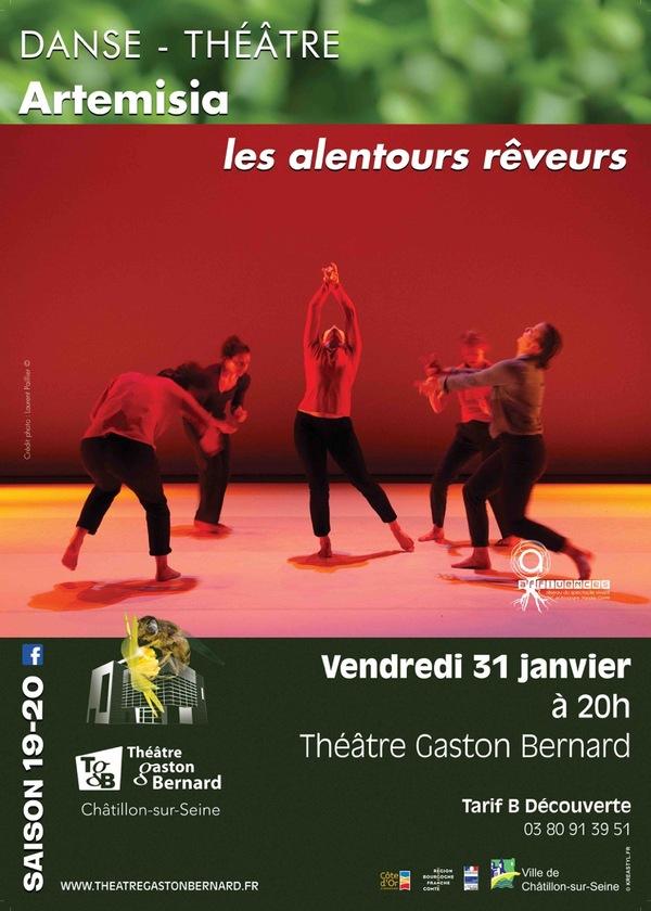 """""""Artemisia"""" de la compagnie des alentours rêveurs bientôt au Théâtre Gaston Bernard"""