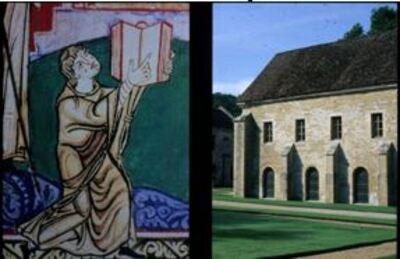 Une conférence de Jean Ponsignon sur les enluminures et les granges cisterciennes
