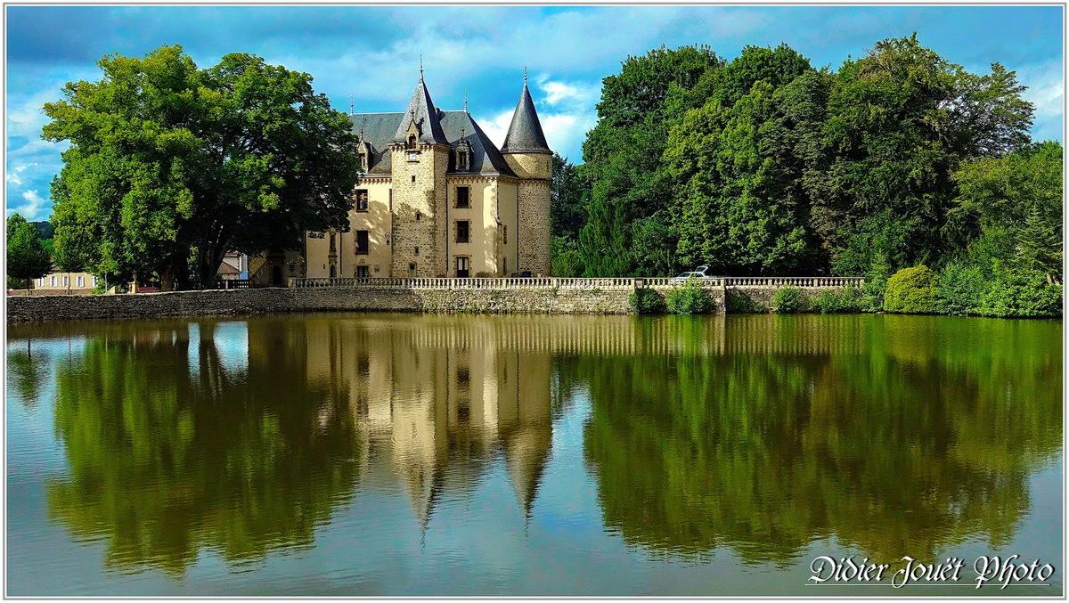 87 . Haute-Vienne - Nieul (2) - Château de Nieul