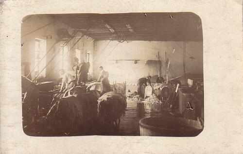 Les intérieurs d'usines