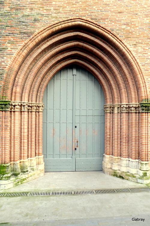 Toulouse: les Jacobins (extérieur)