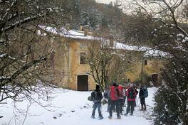 19 décembre 2017 - Raquettes au sud de la rivière Drôme