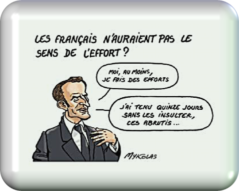 Le sens de l'effort..!