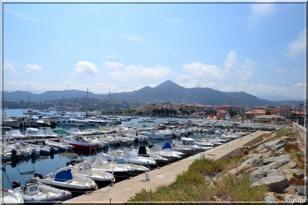 Port de plaisance d'Île-Rousse - Corse - 25 juillet 2014