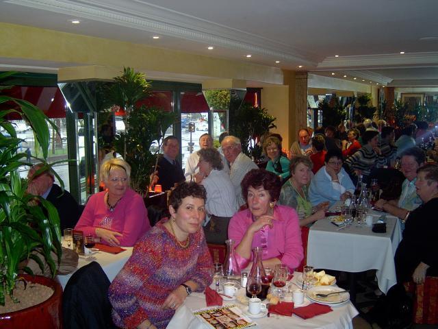 Repas au Bistrot Romain