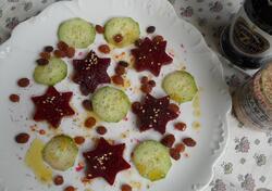 Betterave rouge et vinaigre balsamique Txopinondo