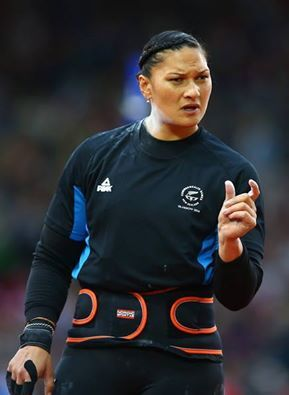 RESULTS OF THE COMMONWEALTH GAMES 2014 GLASGOW, UK 30th July 2014 WOMEN SHOT PUT RANK ATHLETE NATION RESULT 1 Valerie Adams Nzl 19.88  2 Cleopatra Borel Tto 18.57  3 Julie Labonte Can 17.58  4 Rachel Wallader Eng 16.83 PB 5 Sophie Mckinna Eng 16.59  6 Eden Francis Eng 16.57  7 Auriol Dongmo Mekemnang Cmr 16.50 NR 8 Kirsty Yates Sco 16.42 PB 9 Nwanneka Okwelogu Ngr 15.13 PB 10 Alison Rodger Sco 14.76  11 Kim Mulhall Aus 14.55  Annie Alexander Tto NM  PB = Best performance of the athlete