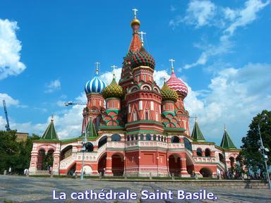 La cathédrale Saint-Basile...!!!