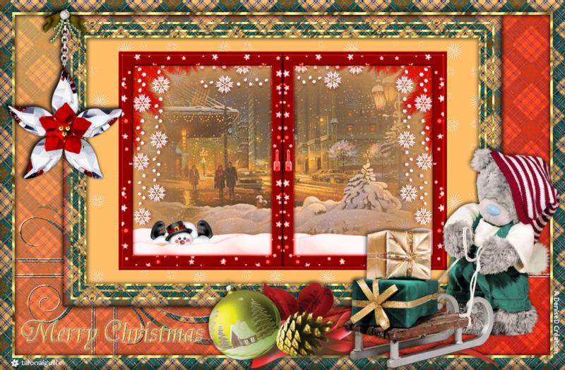 *** Beary Merry Christmas ***